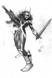 Valkerie by Andrew-Robinson