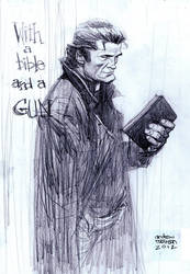 Johnny Cash by Andrew-Robinson