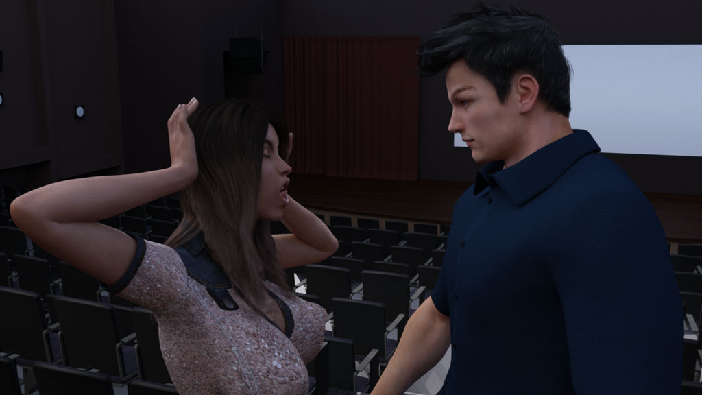 how to kiss in a movie theater