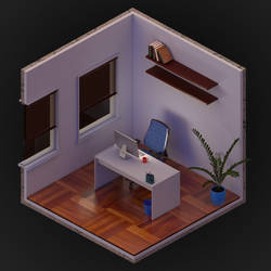 Isometric office 1 by altermind