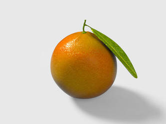 Slow Orange Day by altermind