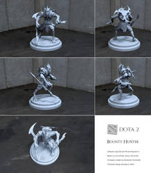 Dota2 BountyHunter by altermind
