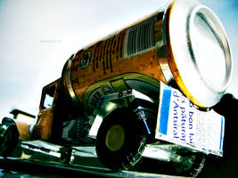 Beer Can Truck Rear by andotsiry