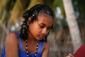 Malagasy Girl by andotsiry