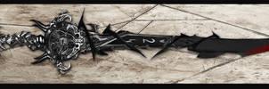 Ele Blade: Darkness Drawing by Unkn0wnfear