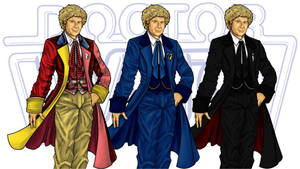 6th Doctor's Costumes by CosmicThunder