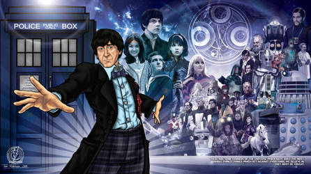 Doctor Who The 2nd Doctor by CosmicThunder
