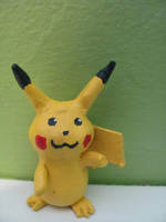 Clay Pikachu by pokey93