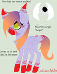 Moonlite Angel 'Angel' by AtomAlchemist