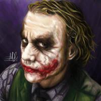 Heath's Joker by TheTanyaDoll