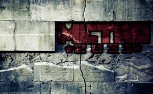 Metro 2033 Wallpaper by RedAndWhiteDesigns