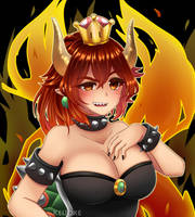 :..: What if Bowser was a girl ? :..: by KeiJoke