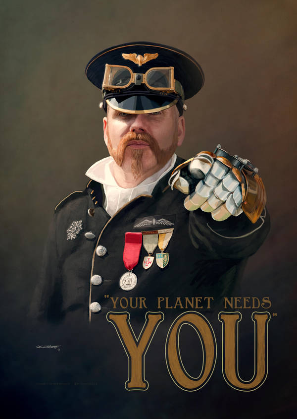 Your Planet Needs YOU by Smaggers