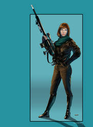 Sniper Girl by Smaggers