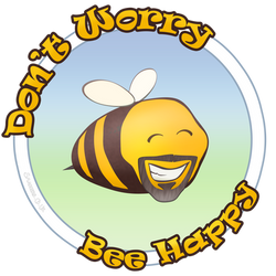 Don't worry Bee happy by Smaggers
