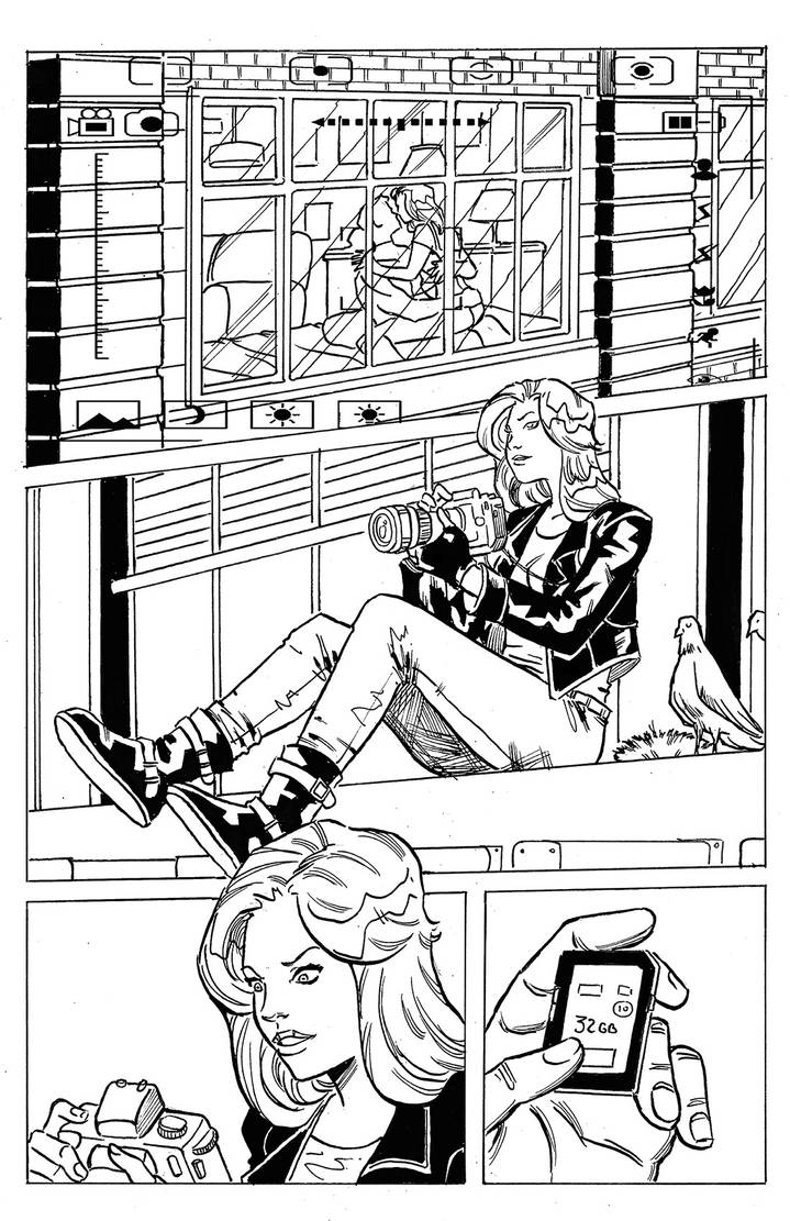 Jessica Jones page01 by MarcusRosado