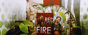 Red Hot Fire Signature by Abbysidian