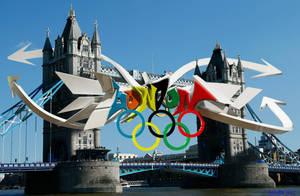 LONDON 2012 3D GRAFFITI by anhpham88