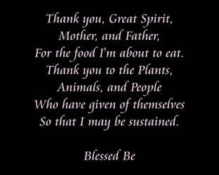 Giving Thanks by merlynhawk