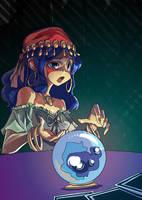 Fortune Teller by chromasketch