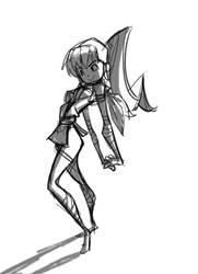 Ninja by chromasketch