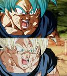 Goku from Takahashi in Buu saga by RenanFNA