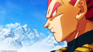 Vegeta Red - Decal HD by RenanFNA