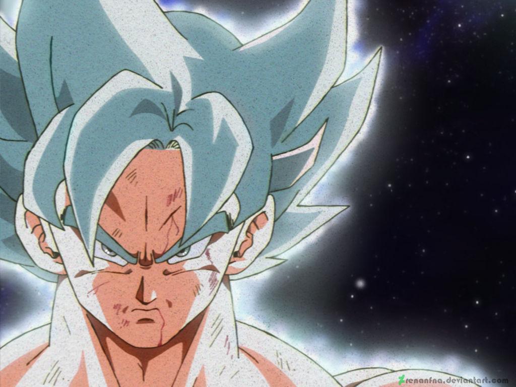 Dragon Ball Gogeta Cuerpo Completo Para Dibujar: Goku UI Mastered By RenanFNA On DeviantArt