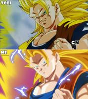 Goku Ssj3 - Remake by RenanFNA