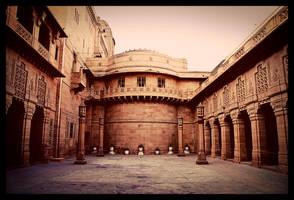 Courtyard by abhimanyughoshal