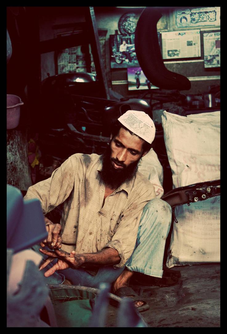 The Mechanic by abhimanyughoshal