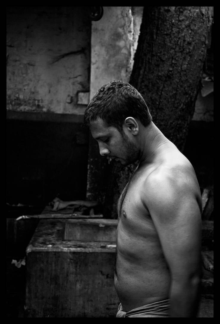 The Wrestler by abhimanyughoshal