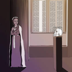 Ellaria Sand and Gregor Clegane by mandyjeanb