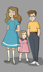 The Baudelaires by mandyjeanb
