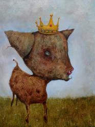 Queen of the meadow by chris10belgium