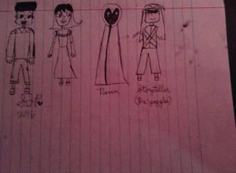 Ocs and Random Characters by SilverShadowPheonix