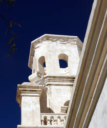 San Xavier del Bac Tower by ricken4003