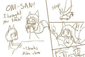 Mika Serves Mako Tea by Link-Hayashi