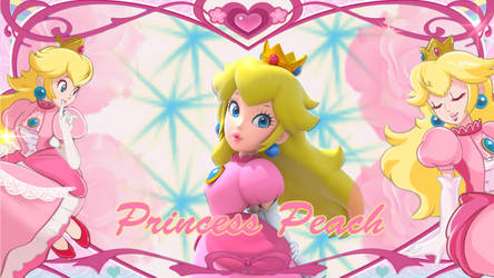 Re: Princess Peach Desktop by Link-Hayashi
