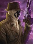 WATCHMEN: Rorschach by rocketraygun