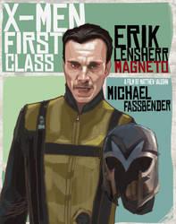 MAGNETO: ERIK LENSHERR by rocketraygun