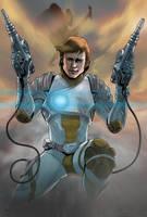 Captain future by rocketraygun