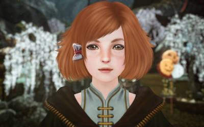 ArcheAge NPC girl by heidksi