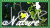 Nature Love Stamp by xxDark-Wolfxx
