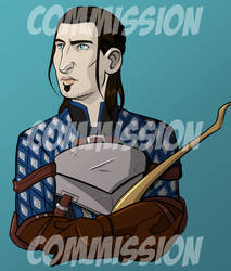 Commission - Nathaniel Howe by lubyelfears