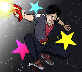 A Dandy Guy... In Space... by lubyelfears