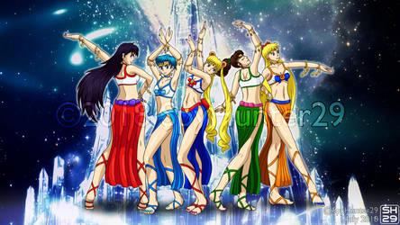 #BellyDanceBeauties - Sailor Moon Wallpaper by SpyHunter29
