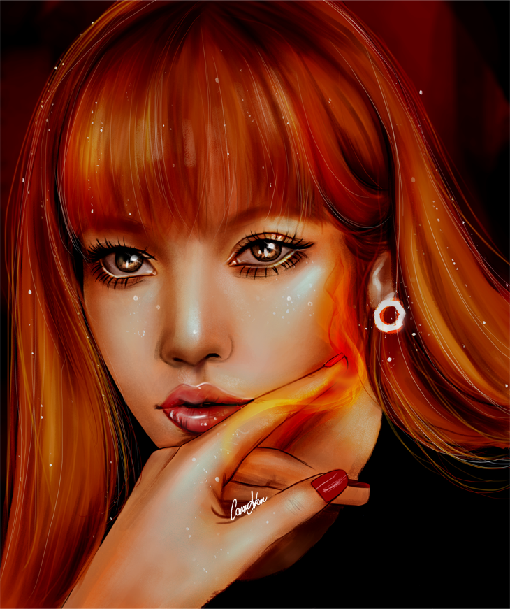 insp: lisa/blackpink by CansuAkn