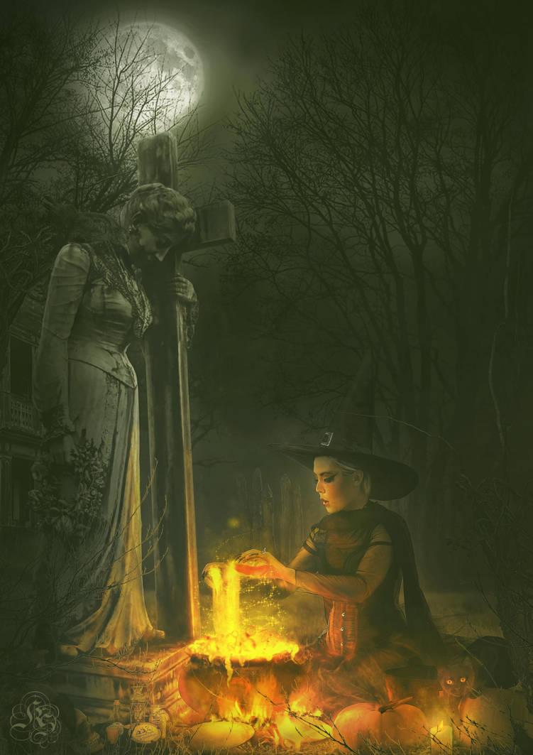 Magical potion by Quijuka