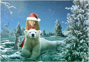 My new winter friend by Quijuka